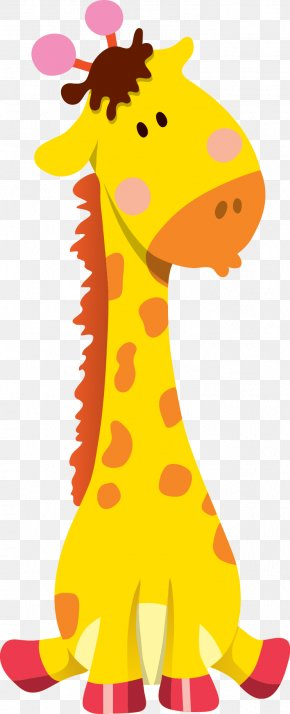 Giraffe - Giraffe Cartoon Animal Illustration PNG