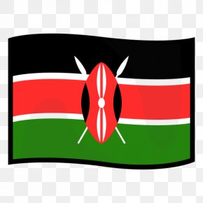 Flag - Flag Of Kenya Emoji Regional Indicator Symbol PNG