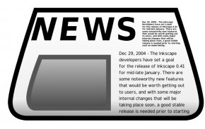 News Cliparts - Free Newspaper Article Clip Art PNG