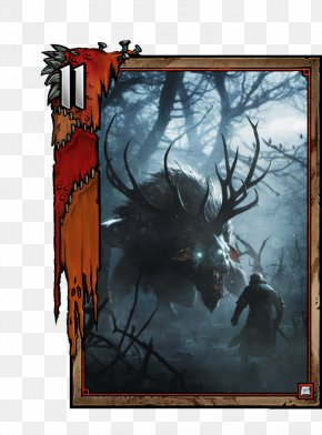 Deer Avatar - Gwent: The Witcher Card Game The Witcher 3: Wild Hunt The Witcher 2: Assassins Of Kings CD Projekt Video Games PNG