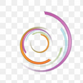 Color Swirl Light - Number Circle PNG