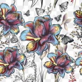 Vector Flowers - Flower Floral Design Stock Illustration PNG