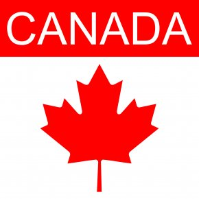 Canada Cliparts - Flag Of Canada Maple Leaf Clip Art PNG