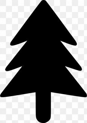 Christmas Tree - Christmas Tree Black And White Clip Art PNG