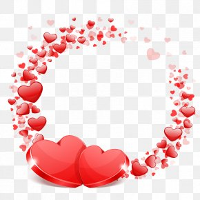 Valentine's Day - Valentine's Day Picture Frames Heart Clip Art PNG