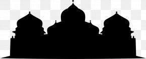 Raya - Baiturrahman Grand Mosque Masjid Raya Baiturrahman Banda Aceh Silhouette PNG