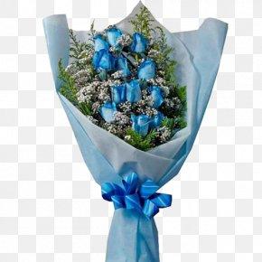 Rose - Flower Bouquet Blue Rose Cut Flowers PNG