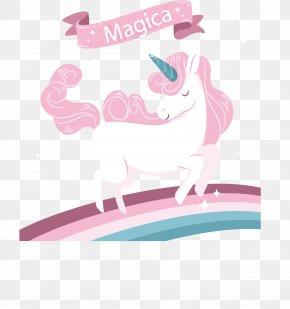 Pink Romantic Unicorn - Unicorn Euclidean Vector Clip Art PNG