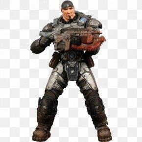 Marcus Fenix Photos - Gears Of War 3 Gears Of War 2 Marcus Fenix Action Figure PNG