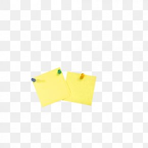 Notes - Paper Yellow Angle Pattern PNG