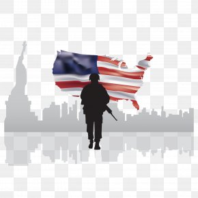 American Soldier Vector - Statue Of Liberty Caffxc3xa8 Americano Flag Of The United States Soldier PNG