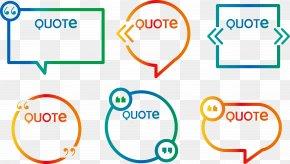 Color Dialog Box Vector - Euclidean Vector Speech Balloon Dialog Box Quotation Mark PNG
