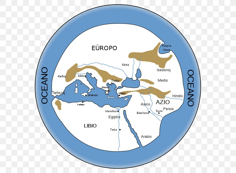 Ancient Greece Miletus Early World Maps, PNG, 616x600px ...