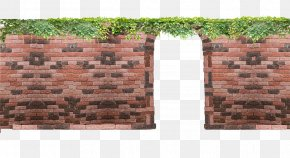 Free Red Brick Arches Pull Material - Brick Wall Icon PNG