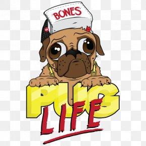 Pug Life Photos - Pug Whippet Bulldog T-shirt PNG