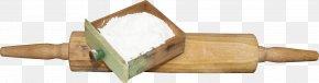 Drawer Flour Rolling Pin - Wood Rolling Pin PNG
