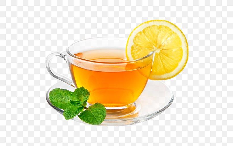 Green Tea Ginger Tea White Tea Lemon, PNG, 512x512px, Tea, Black Tea, Citric Acid, Citrus, Cocktail Garnish Download Free