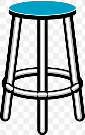 Furniture Cliparts - Table Bar Stool Furniture Clip Art PNG