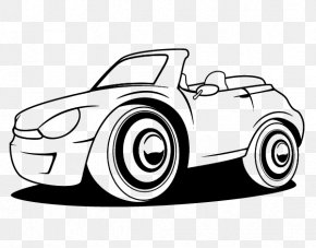 Cars Coloring Pages - Sports Car Drawing Ferrari Coloring Book PNG