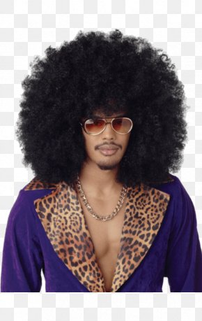 Afro - Afro Wig Hairstyle Artificial Hair Integrations Costume PNG