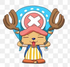 Black Elk Face With Blue Hat - Tony Tony Chopper Monkey D. Luffy Roronoa Zoro Nami Brook PNG