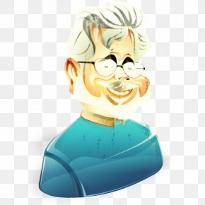 Animation Head - Film Director Cartoon PNG