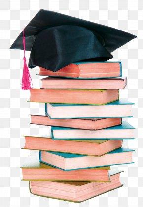 Book - Graduation Ceremony Square Academic Cap Hat Book Education PNG