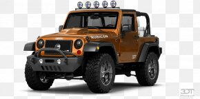 Car - Jeep Wrangler Car Off-roading Motor Vehicle Tires PNG