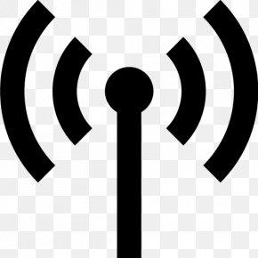 Antenna Pic - Antenna Symbol Signal Wi-Fi Icon PNG