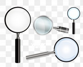 Glass Mirror Magnifying Glass - Magnifying Glass Mirror PNG