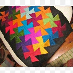 Village Quilts - Pinwheel Textile Paper Quilt Square PNG