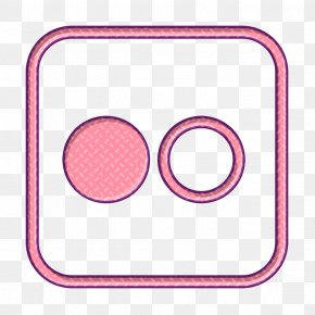 Pink Flickr Icon - Flickr Icon PNG