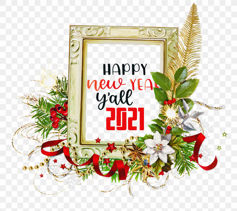 2021 Happy New Year 2021 New Year 2021 Wishes, PNG, 3000x2669px, 2021 Happy New Year, 2021 New Year, 2021 Wishes, Christmas Day, Film Frame Download Free