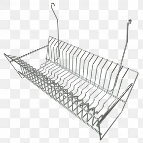 Long Wall Hook Iron Rack - 3D Computer Graphics Wavefront .obj File Autodesk 3ds Max Bowl Plate PNG