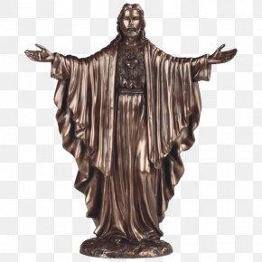 Christ The Redeemer Statue Cost - Statue Christ The Redeemer Figurine Christ Of Vũng Tàu Bronze Sculpture PNG