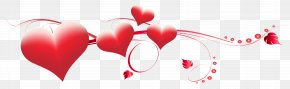 Valentine's Day Hearts Decoration Transparent PNG Clip Art Image - Valentine's Day Heart Clip Art PNG