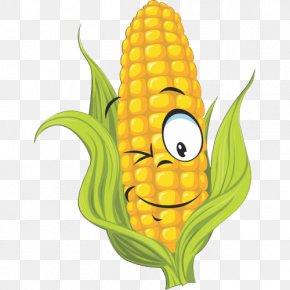 Sweet Corn Clip Art - Corn On The Cob Drawing Vector Graphics Maize Clip Art PNG
