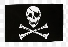 Bones - Jolly Roger Golden Age Of Piracy Flag Skull And Crossbones PNG