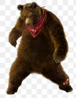 Bear - Tekken Tag Tournament 2 Street Fighter X Tekken Tekken 7 Tekken 6 PNG