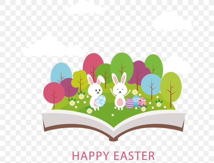 Easter Bunny Easter Egg Greeting Card, PNG, 650x626px, Easter Bunny, Craft, Easter, Easter Egg, Egg Hunt Download Free
