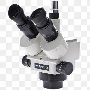 Stereo Microscope - Stereo Microscope Zoom Lens Eyepiece Binoculars PNG