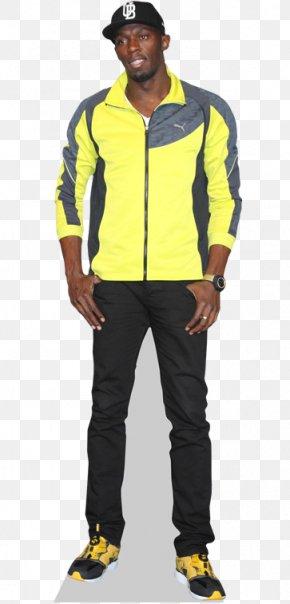 Usain Bolt - Usain Bolt Celebrity Standee Sprint PNG