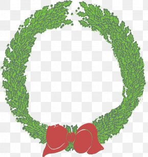 Christmas - Wreath Christmas Memorial Day Clip Art PNG