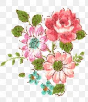 Flower - Garden Roses Floral Design Cabbage Rose Flower Bouquet Clip Art PNG