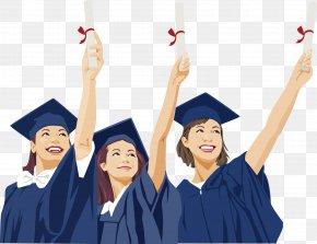 People Graduation Season - Graduation Ceremony Career Résumé Academic Dress Graduate University PNG