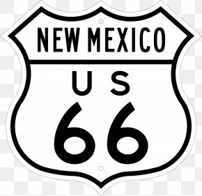 Route - U.S. Route 66 In New Mexico U.S. Route 80 Interstate 40 U.S. Route 66 In Arizona PNG