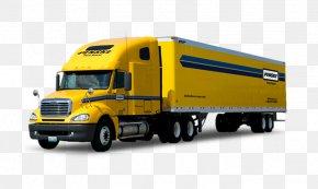 Truck - Penske Truck Leasing Truck Driver Semi-trailer Truck Penske Truck Rental PNG