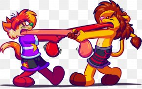Tug Of War Pictures - Cat Tug Of War Clip Art PNG