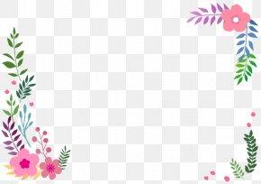 Flower - Borders And Frames Flower Petal Clip Art PNG