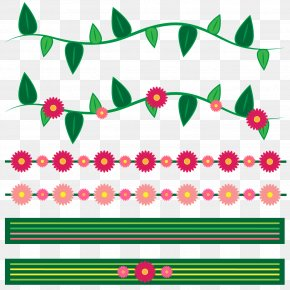 Flower - Clip Art Borders And Frames Image Illustration PNG